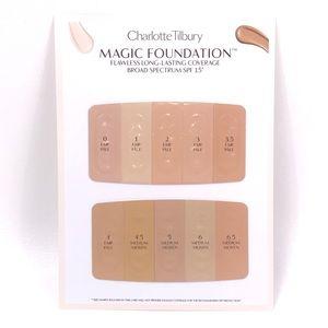 CHARLOTTE TILBURY Magic Foundation Sample Card
